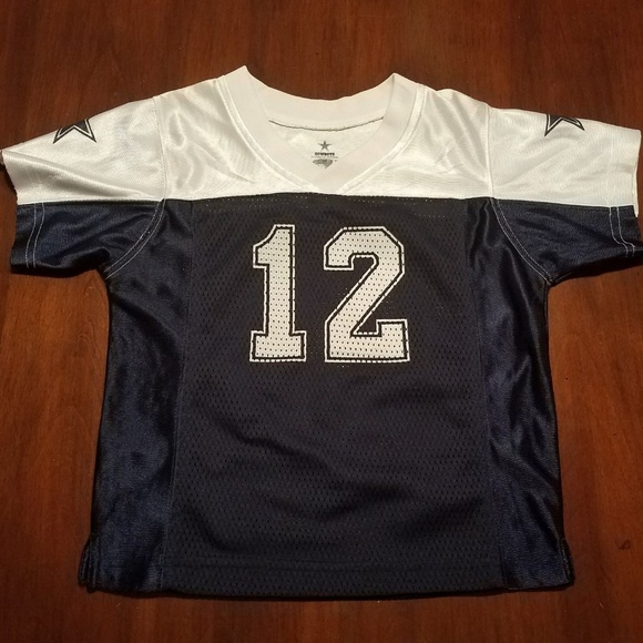 on sale 93bce 76da5 Roger Staubach #12 3T Dallas Cowboys Jersey Blue